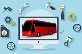 Bus Pariwisata Padang bersih dan terawat dengan baik