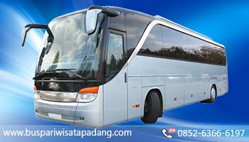 Sewa Rental Mobil Bus Pariwisata di Padang Sumatera Barat