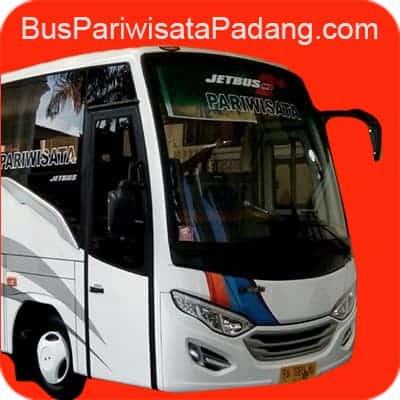 sewa bus pariwisata padang sumatera barat